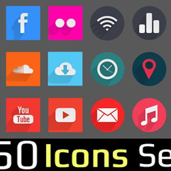 50 Icons Set