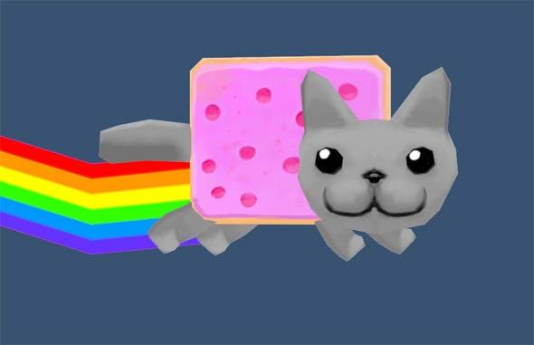 Nyan   - 3DOcean Item for Sale