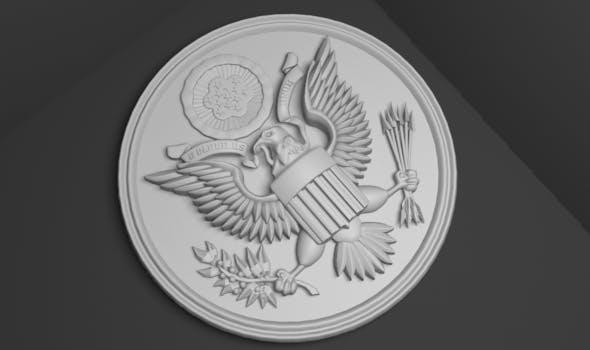 United States national emblem  - 3DOcean Item for Sale