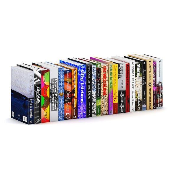 Novel Books 3 - 3DOcean Item for Sale