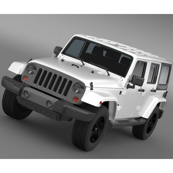 Jeep Wrangler Freedom Edition - 3DOcean Item for Sale