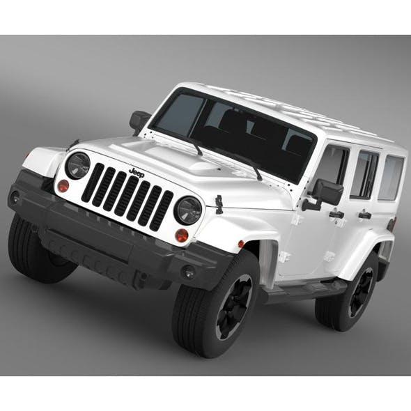 Jeep Wrangler Polar 2014   - 3DOcean Item for Sale