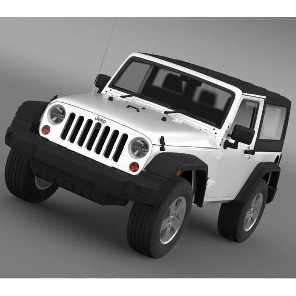Jeep Wrangler UK Sport 2008 - 3DOcean Item for Sale