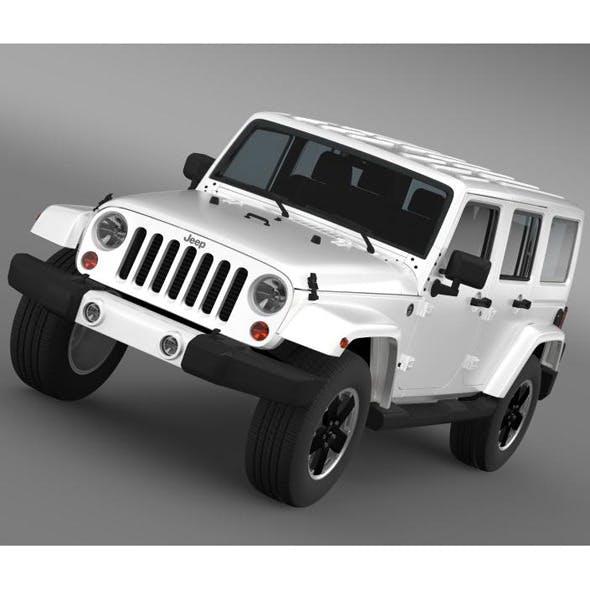 Jeep Wrangler Unlimited Altitude 2012 - 3DOcean Item for Sale