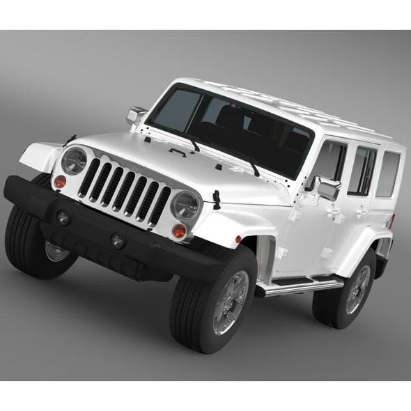 Jeep Wrangler Unlimited ENVI - 3DOcean Item for Sale