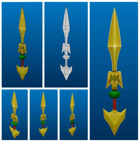 Stylish Sword 05 - 3DOcean Item for Sale