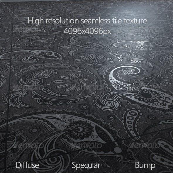 High resolution seamless tile texture