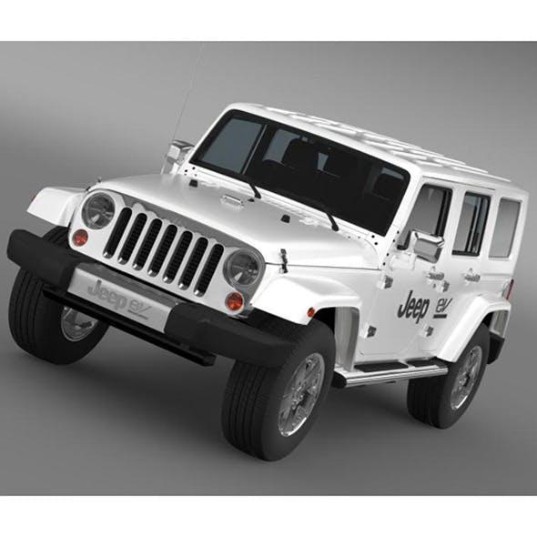 Jeep Wrangler Electric Vehicle Concept