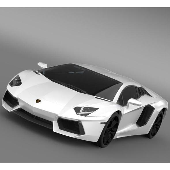 Lamborghini Aventador LP 700 4 LB834 - 3DOcean Item for Sale