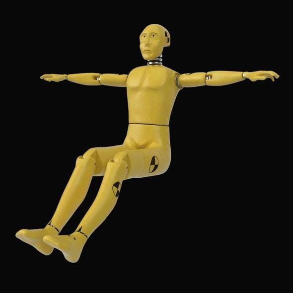 Crash Test Dummy - 3DOcean Item for Sale