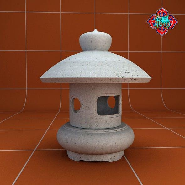 Stone lamp C