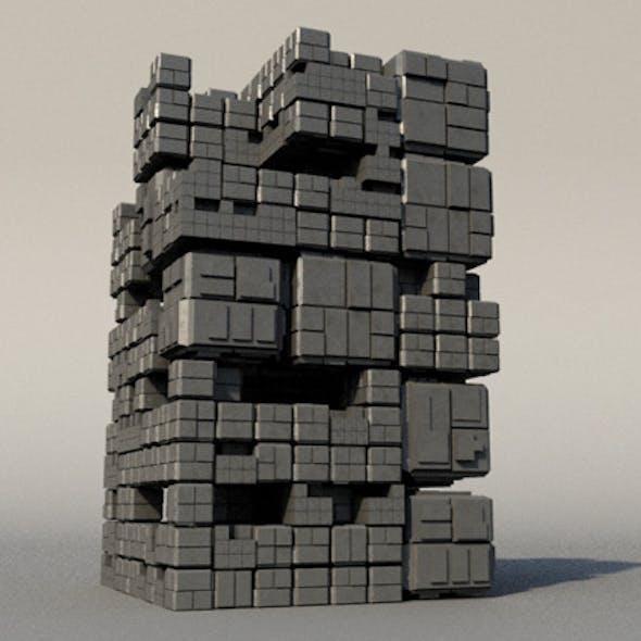 Sci Fi Box Building