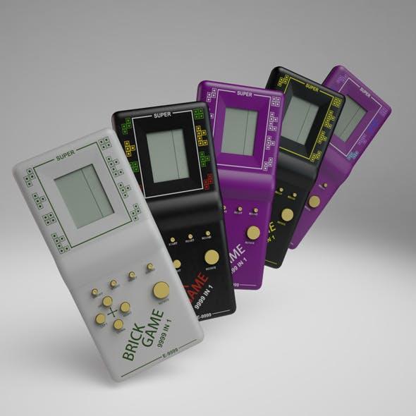 Brick Game 9999 in 1 - 3DOcean Item for Sale