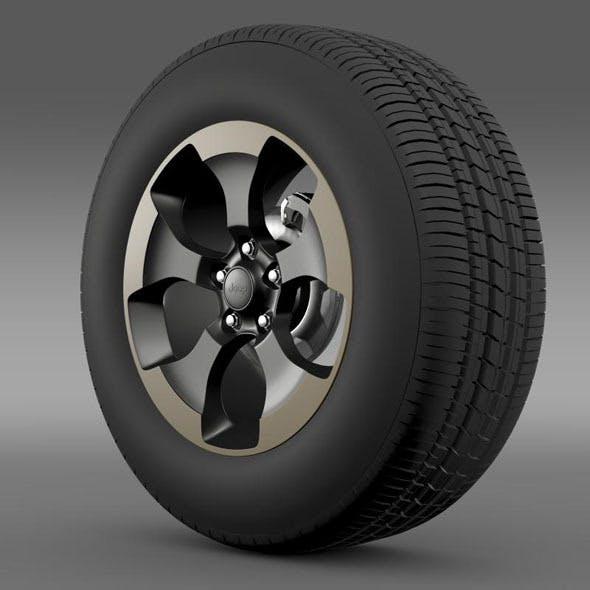 Jeep Wrangler Dragon Edition 2014 wheel