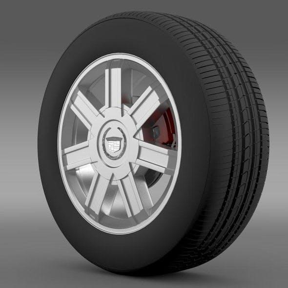 Cadillac Escalade awd 2012 wheel - 3DOcean Item for Sale