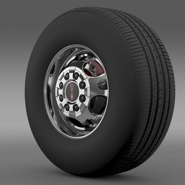 GMC Sierra 2500HD 2wd crew 2009 wheel - 3DOcean Item for Sale