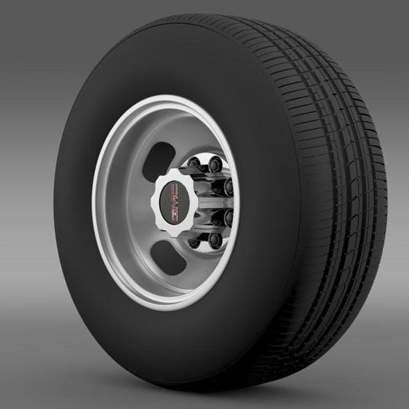 GMC Sierra 3500HD 2008 wheel - 3DOcean Item for Sale