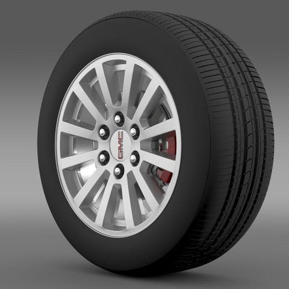 GMC Yukon Hybrid 2012 wheel