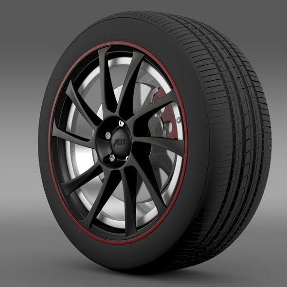 VW Beetle ABT 2012 wheel