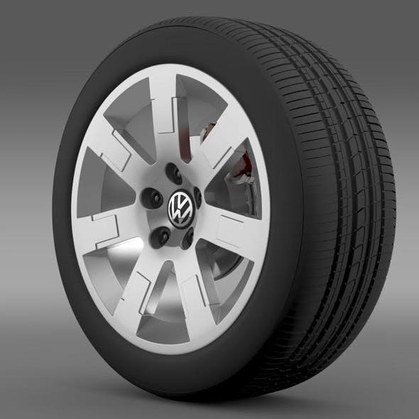 VW Polo Blue UK 2010 wheel - 3DOcean Item for Sale