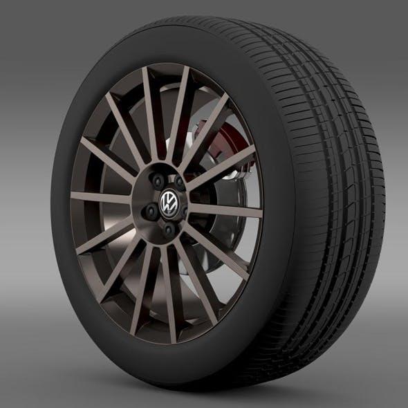 VW Polo R WRC Street wheel