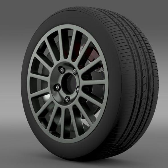 VW Polo R WRC wheel