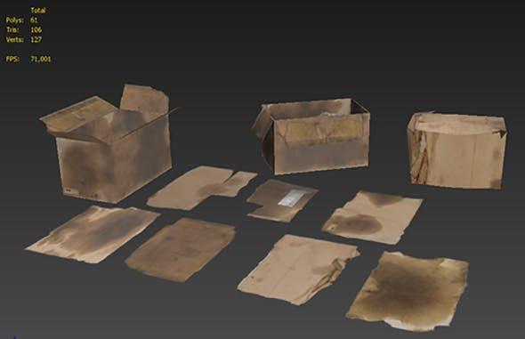 Cardboards  - 3DOcean Item for Sale
