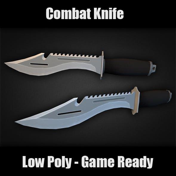 Combat Knife - 3DOcean Item for Sale