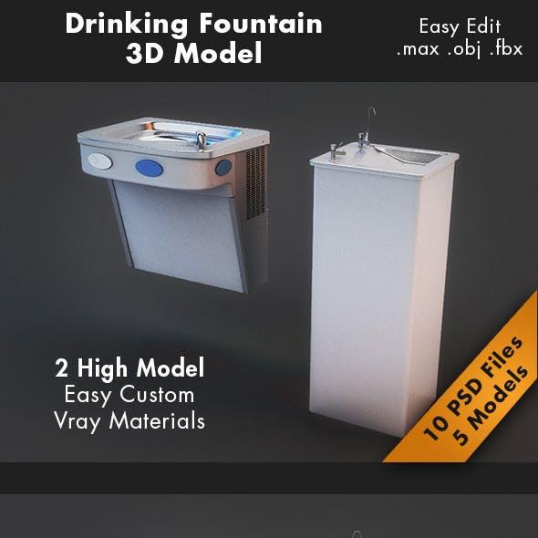 Drinking Fountain Model