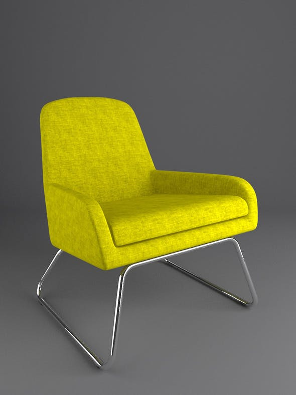 Coco Easy Chair - 3DOcean Item for Sale