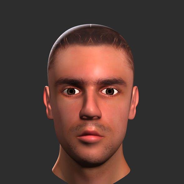 Human Male Head