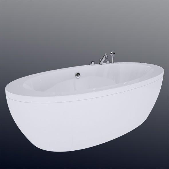 Laufen Il Bagno Alessi One Bathtub 24197.0