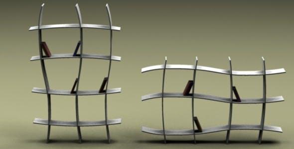 Modern Shelf - 3DOcean Item for Sale