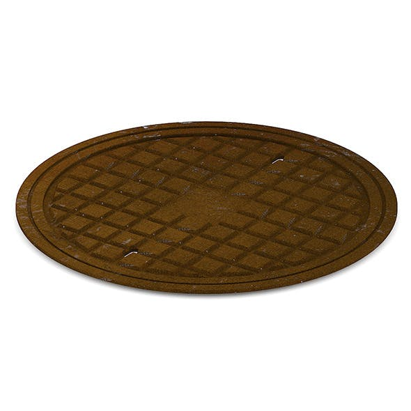 Sewer Manhole - 3DOcean Item for Sale
