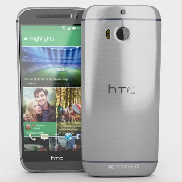 HTC One M8 - 3DOcean Item for Sale