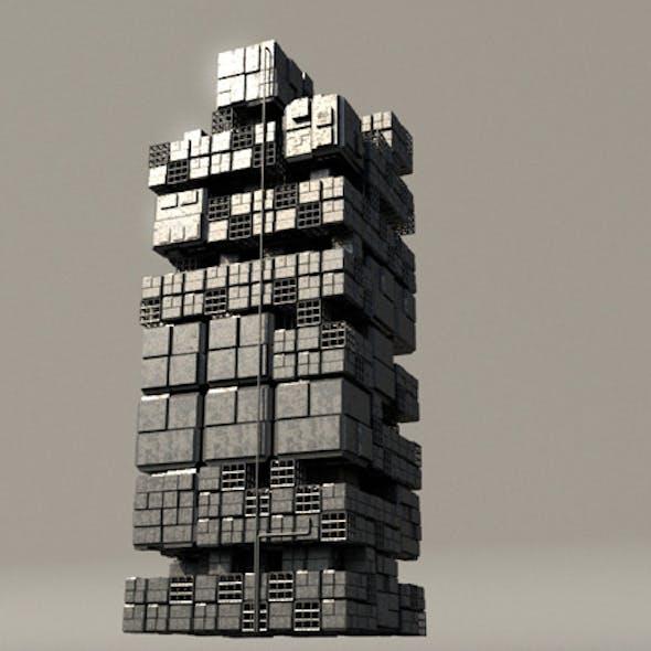 Sci fi Box Building 3