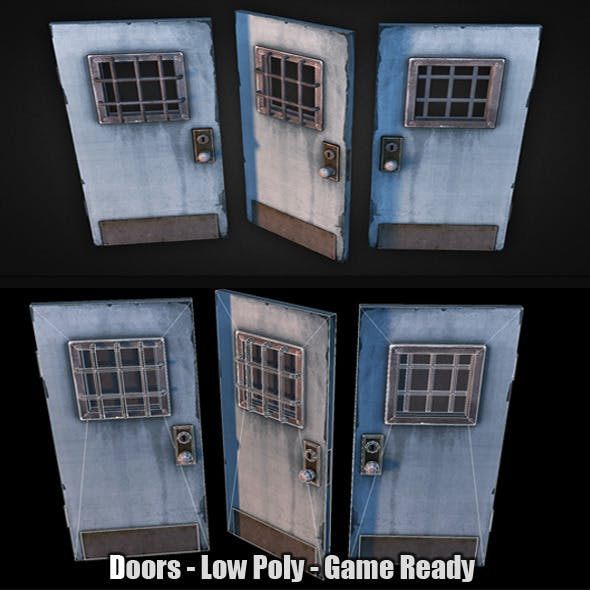 Doors Low Poly