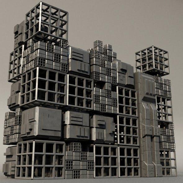 Sci fi Box Building 4