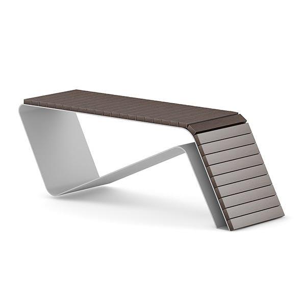 Wooden Bench 1 - 3DOcean Item for Sale