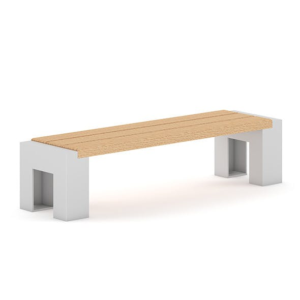 Wooden Bench 4