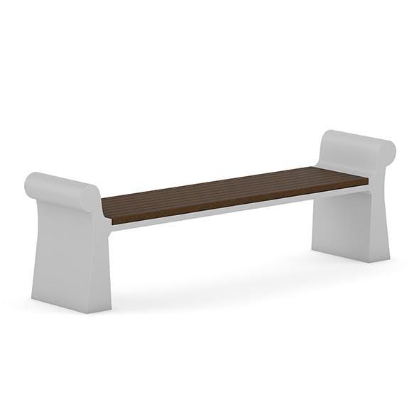 Wooden Bench 7 - 3DOcean Item for Sale