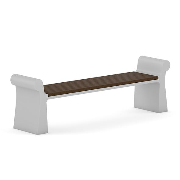 Wooden Bench 7