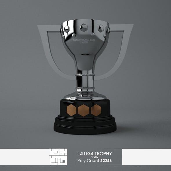La Liga Trophy 3D Model