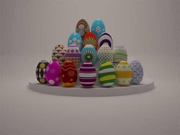 Easter Egg - 3DOcean Item for Sale