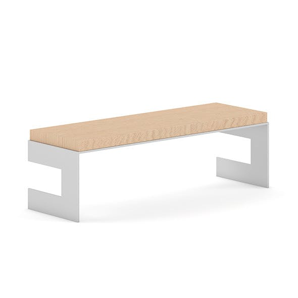 Wooden Bench 10 - 3DOcean Item for Sale
