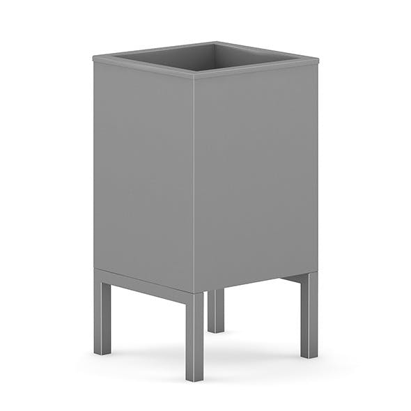Square Recycle Bin 1 - 3DOcean Item for Sale