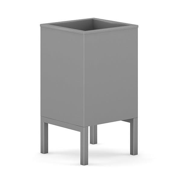 Square Recycle Bin 1