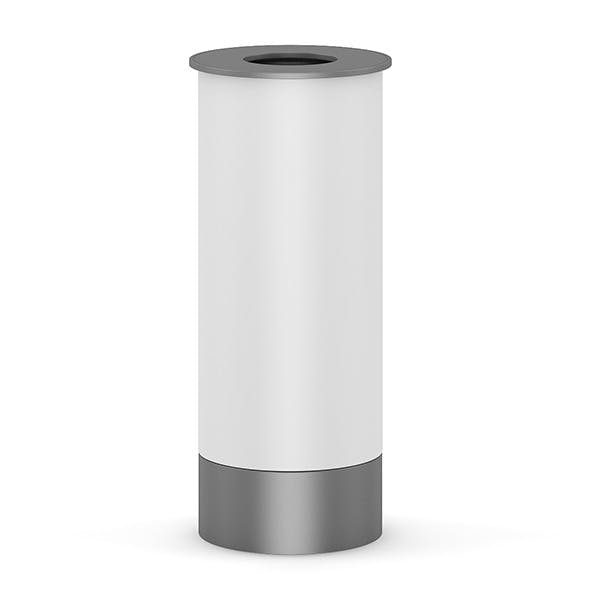 Round Recycle Bin 1 - 3DOcean Item for Sale