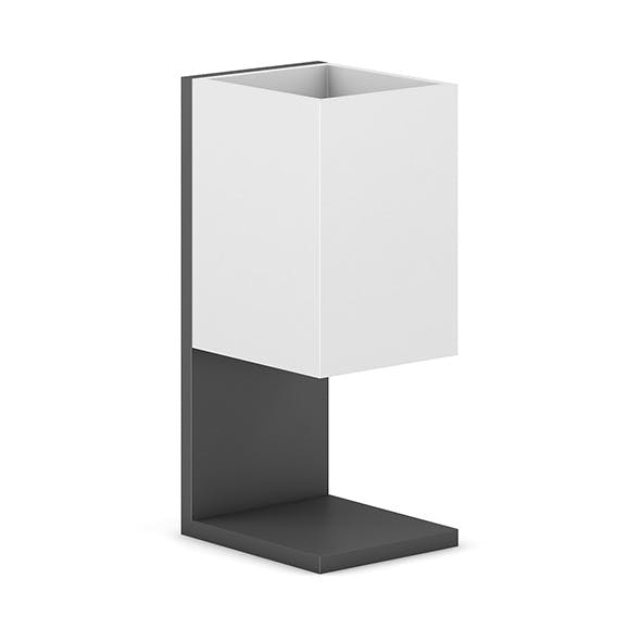 Square Recycle Bin 2 - 3DOcean Item for Sale