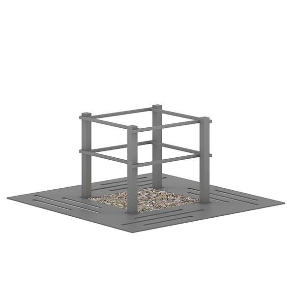Tree Barrier 1 - 3DOcean Item for Sale